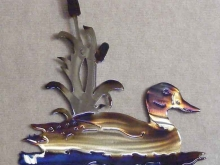duck,swimming,cattails,marsh,lake,pond,wild,bird,art,mallard,wood