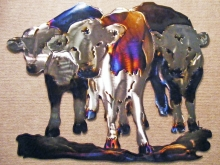 cow,bovine,heifer,herd,cattle,western,art
