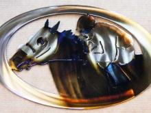 race,track,horse,jockey,metal,art,newmexico