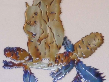 squirrel,pine,tree,southern,red,hunting,acorn,wildlife,art